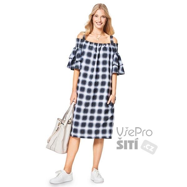 ... Střih dámské jarní letní šaty volné ... 8115e59b44