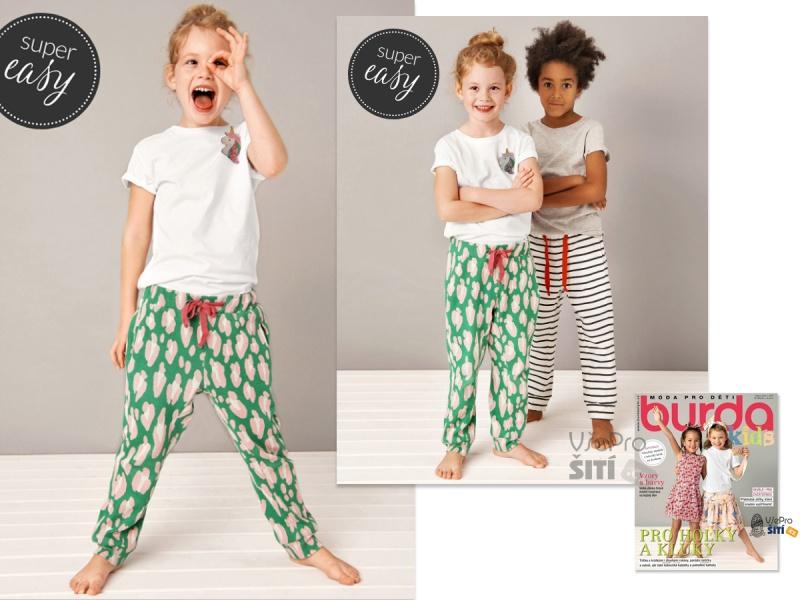 19d87a5dc ... Trendy a pohodlné modely pro holky a kluky Burda KIDS ...