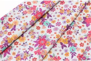 Metráž - Ba šatovka LILA drobný květ 17470 84c8881df19