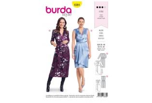 Střihy Burda na dámské šaty  ef1f44d9ae