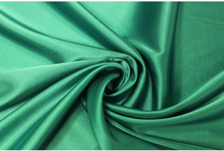 Metráž - jednobarevný satén VODNÍ ZELENÁ Saten-N - látka na společenské šaty b84d8142c9e