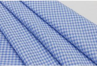 Metráž - Ba Pes kostička MODROBÍLÁ N4160 2 - látka na šaty a halenky 54b9b15dc2e